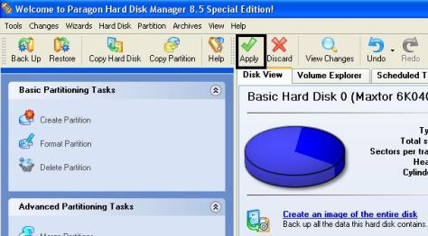 Create new partition wizard6