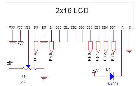 Schematic LCD